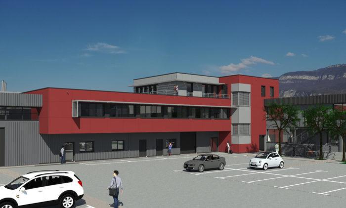 Bâtiment de bureaux neufs à louer