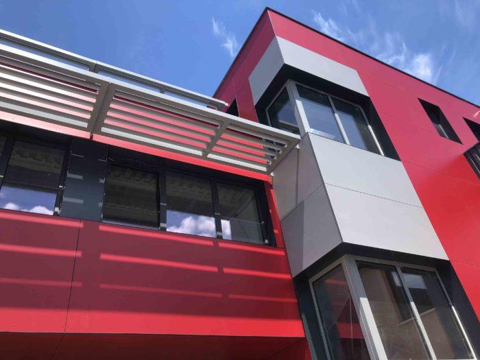 Le nouveau bâtiment prend forme !